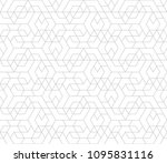 abstract geometric pattern with ... | Shutterstock .eps vector #1095831116