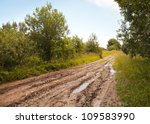 Russian Rural Landscape With...