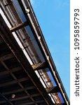 look up railway shot   Shutterstock . vector #1095859793