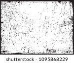 grunge overlay texture.... | Shutterstock .eps vector #1095868229