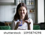 frustrated stressed young woman ... | Shutterstock . vector #1095874298
