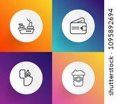 modern  simple vector icon set...   Shutterstock .eps vector #1095892694