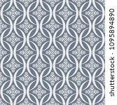 abstract seamless pattern of... | Shutterstock .eps vector #1095894890