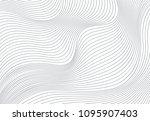 wavy vector background | Shutterstock .eps vector #1095907403