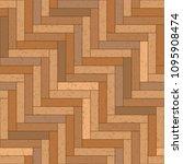seamless texture of wooden... | Shutterstock .eps vector #1095908474