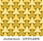 japanese seamless wicker... | Shutterstock .eps vector #1095916898