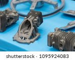 high precision hot forging... | Shutterstock . vector #1095924083