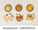 ginger  turmeric and cinnamon | Shutterstock . vector #1095935516