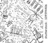 old chemistry laboratory... | Shutterstock .eps vector #109594406