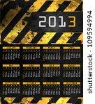 Vector Abstract Calendar ...