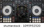 audio mixing controller with... | Shutterstock . vector #1095952520