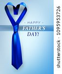 fathers day gift post greeting... | Shutterstock .eps vector #1095953726