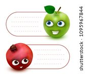 vector hang tag labels or... | Shutterstock .eps vector #1095967844