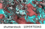 art abstract colorful geometric ... | Shutterstock . vector #1095970343