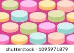 vector abstract retro seamless... | Shutterstock .eps vector #1095971879