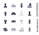 controller icon. collection of... | Shutterstock .eps vector #1095989003
