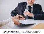 bribery and corruption concept  ...   Shutterstock . vector #1095989090