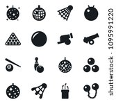 set of simple vector isolated... | Shutterstock .eps vector #1095991220