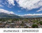 view of the alps in vaduz ... | Shutterstock . vector #1096003010