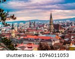 Small photo of Beautiful city of Cluj Romania during spring time