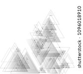 abstract polygonal low poly... | Shutterstock .eps vector #1096018910