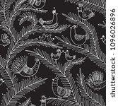 vector seamless tropical... | Shutterstock .eps vector #1096026896