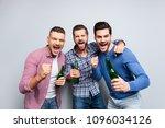 portrait of cheerful  crazy ... | Shutterstock . vector #1096034126