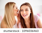 close up portrait of pretty ... | Shutterstock . vector #1096036463