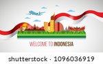 vector color flat design ... | Shutterstock .eps vector #1096036919