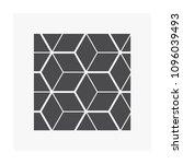 cube flooring pattern vector... | Shutterstock .eps vector #1096039493