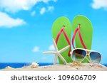 Flip Flops Sunglasses With...