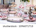 delicious wedding reception...   Shutterstock . vector #1096071713