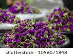 bangkok flower market  pak...   Shutterstock . vector #1096071848