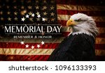 american flag with the text... | Shutterstock . vector #1096133393