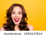 portrait with copy space empty... | Shutterstock . vector #1096147814