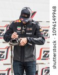 Small photo of Daniel Ricciardo at the Jumbo Racing days Driven by Max Verstappen - The Netherlands - Circuit park Zandvoort - 20 May 2018