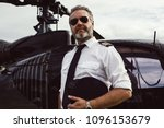 Portrait Of Helicopter Pilot I...