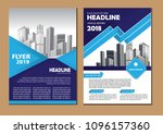 business abstract vector... | Shutterstock .eps vector #1096157360