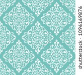 turquoise vintage vector... | Shutterstock .eps vector #1096169876