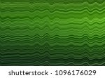 light green vector pattern with ... | Shutterstock .eps vector #1096176029