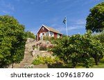 Swedish Cottages Painted In Th...