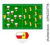 football match poland versus...   Shutterstock .eps vector #1096210778