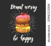 hand made inspirational and... | Shutterstock .eps vector #1096213304