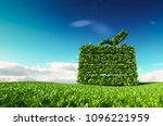 eco friendly tourism concept.... | Shutterstock . vector #1096221959