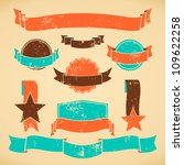 a set of web design elements in ... | Shutterstock .eps vector #109622258