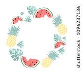 i love summer letting...   Shutterstock .eps vector #1096237136