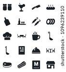 set of vector isolated black... | Shutterstock .eps vector #1096239110
