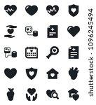 set of vector isolated black...   Shutterstock .eps vector #1096245494