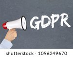 gdpr general data protection... | Shutterstock . vector #1096249670