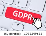 gdpr general data protection... | Shutterstock . vector #1096249688